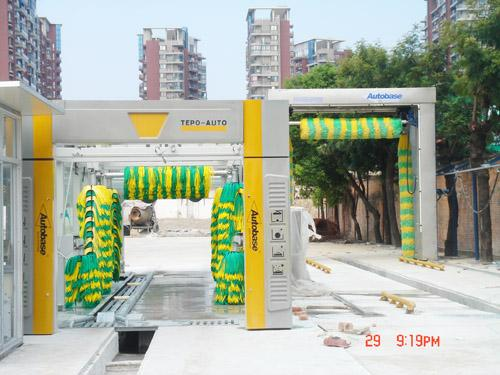 Swing arm design car wash machine, quick cleaning speed, self service car wash equipment
