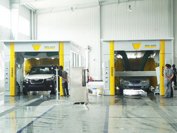 চীন TEPO - AUTO Car Wash Tunnel Equipment with No scratch the car paint performance সরবরাহকারী