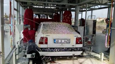 চীন Tunnel Automatic Car Wash Equipment With Pneumatic Control System সরবরাহকারী