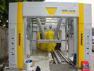 চীন Brushless Tunnel Car Wash System Automatic With High Air Drying সরবরাহকারী