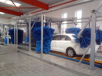 চীন Tunnel Car Wash Systems With Three Color Wax Spraying , Innovation Mode সরবরাহকারী